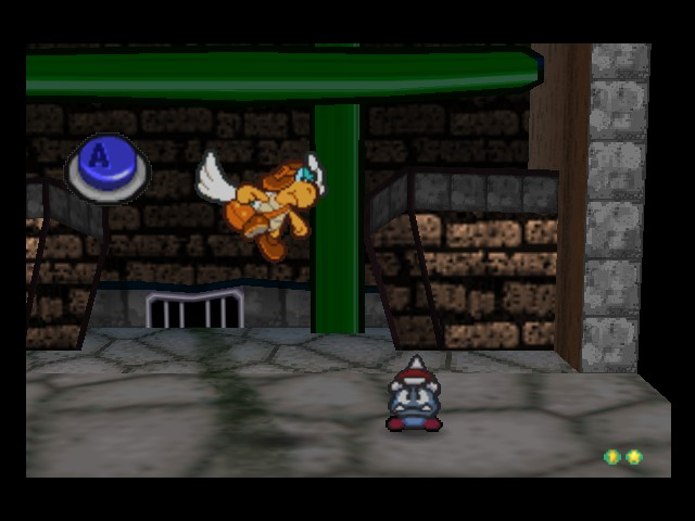 Paper Mario - This doesnt look good for Parakarry... - User Screenshot